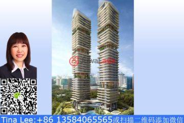 居外网在售新加坡2卧2卫新开发的房产总占地8091平方米SGD 3,800,000