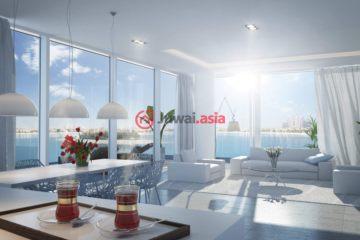 居外网在售阿联酋1卧2卫新房的房产总占地84平方米AED 2,307,000