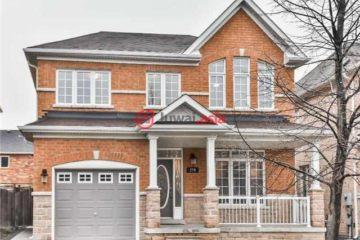 居外网在售加拿大万锦市3卧4卫的房产总占地232平方米CAD 1,098,000
