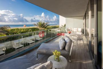 居外网在售美国迈阿密海滩5卧的房产总占地372平方米USD 8,250,000