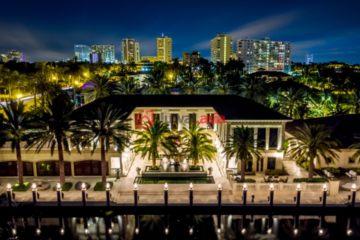 美国房产房价_佛罗里达州房产房价_劳德代尔堡房产房价_居外网在售美国劳德代尔堡5卧7卫特别设计建筑的房产总占地3274平方米USD 16,000,000