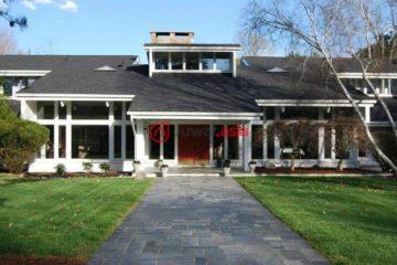 居外网在售美国6卧8卫特别设计建筑的房产总占地21902平方米USD 889,000