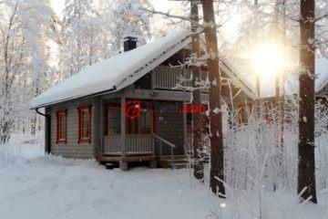 芬兰Savonlinna总占地40平方米的乡郊地产