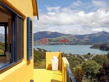 居外网在售新西兰3卧3卫特别设计建筑的房产总占地235平方米