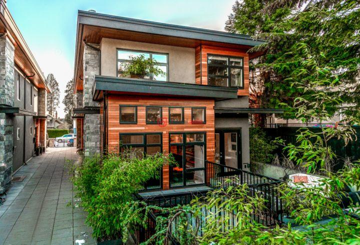 加拿大不列颠哥伦比亚省北温哥华区3卧3卫最近整修过的别墅二百余平的设计图房产图片