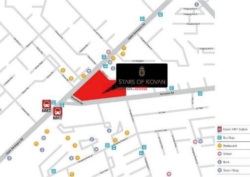新加坡东北地区新加坡的房产,高文地铁口,编号31963011