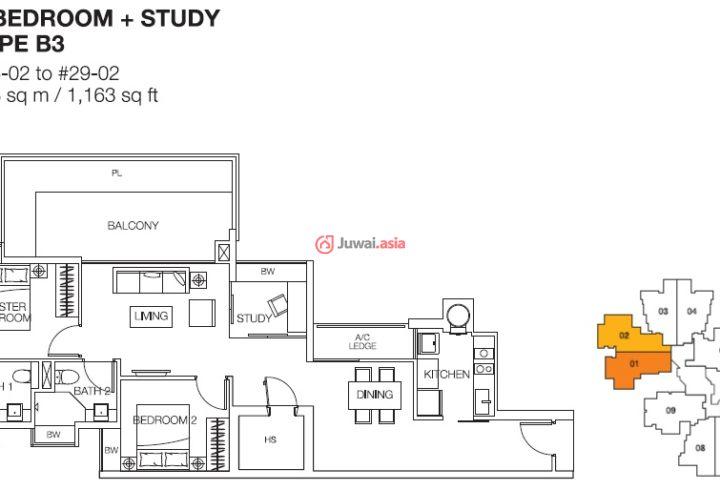 Cityscape 是位于新加坡第 8 区(中央区) 麦桂路101号的私宅项目。 项目由Mergui Development Pte Ltd 发展,地契是属于永久地契。 项目占地8409平方米,项目包括1座30层高的私人公寓。这个项目共有250个单位,包括160个两卧房单位、85个三卧房单位、以及5个阁楼单位。 单位面积介于90平方米至276平方米。 项目预计于2015年能取得临时入伙准证。 Cityscape非常靠近市中心,出行相当的便捷。 从樟宜国际机场到达公寓仅需16分钟,公寓距离繁华的乌节路购物区