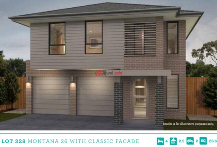 U乐国际娱乐新南威尔士州Marsden Park的新建房产,60/73 Glengarrie Rd,编号33477482