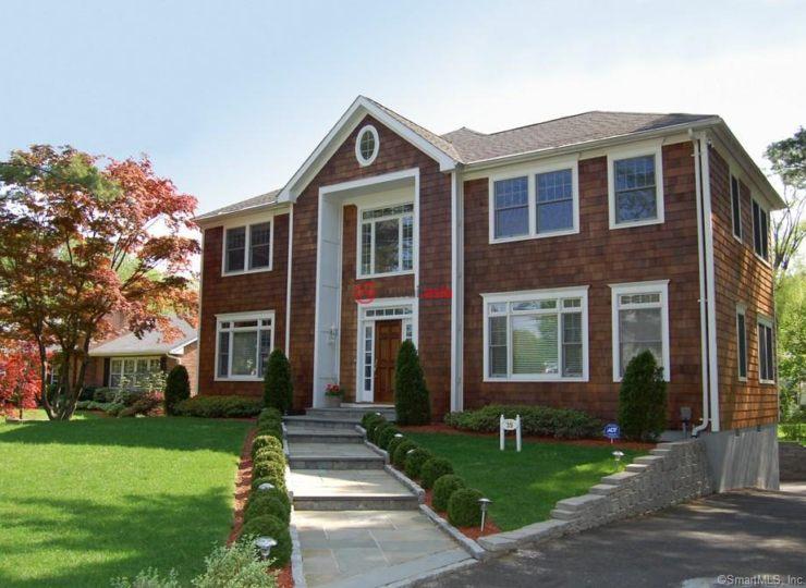 美国康涅狄格格林威治5卧6卫的房产别墅出售二手花都图片